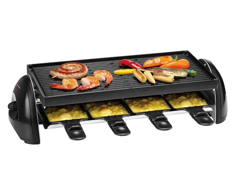trisa raclette party grill f r 8 personen ichvk. Black Bedroom Furniture Sets. Home Design Ideas