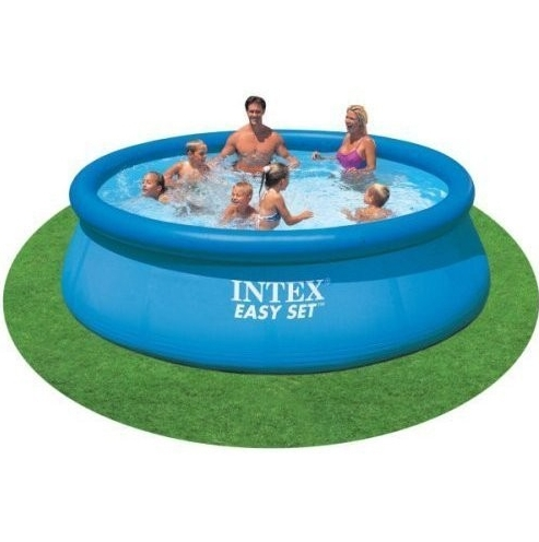 Intex easy pool set 366 x 76cm rund ohne pumpe ichvk for Pool set rund